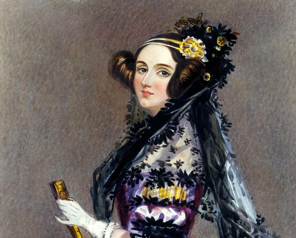 Ada Lovelace foi a primeira programadora do mundo — Foto: Reprodução/Science Museum Group