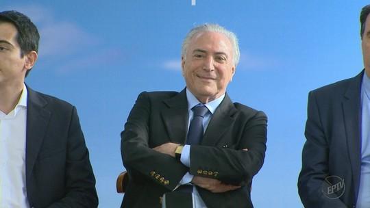 Presidente Temer inaugura centro de diagnóstico com seu nome em Barretos