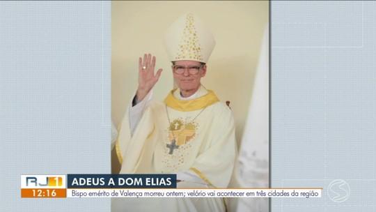 Morre Dom Elias, bispo emérito da diocese de Valença