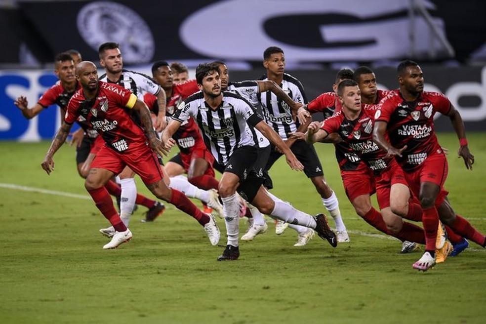 Atlético-MG x Athletico-PR — Foto: Agência i7/ Mineirão