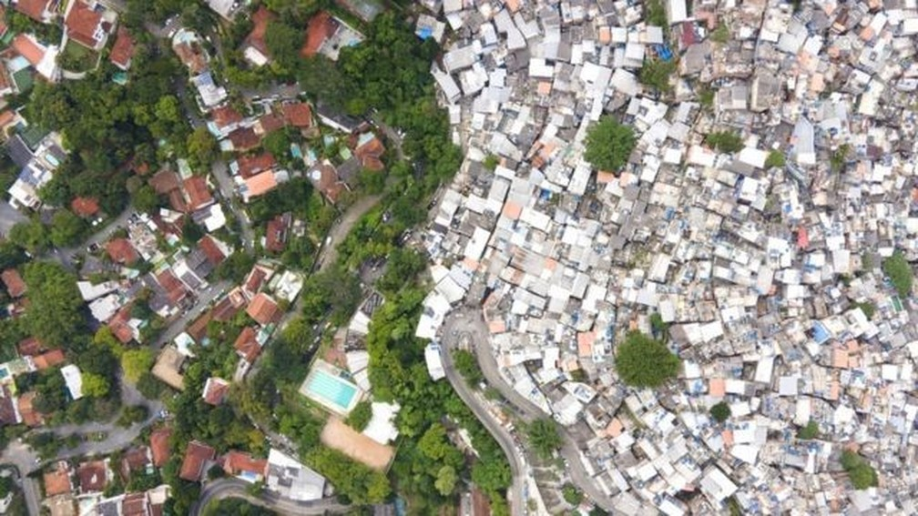 Rocinha — Foto: JOHNNY MILLER / UNEQUAL SCENES