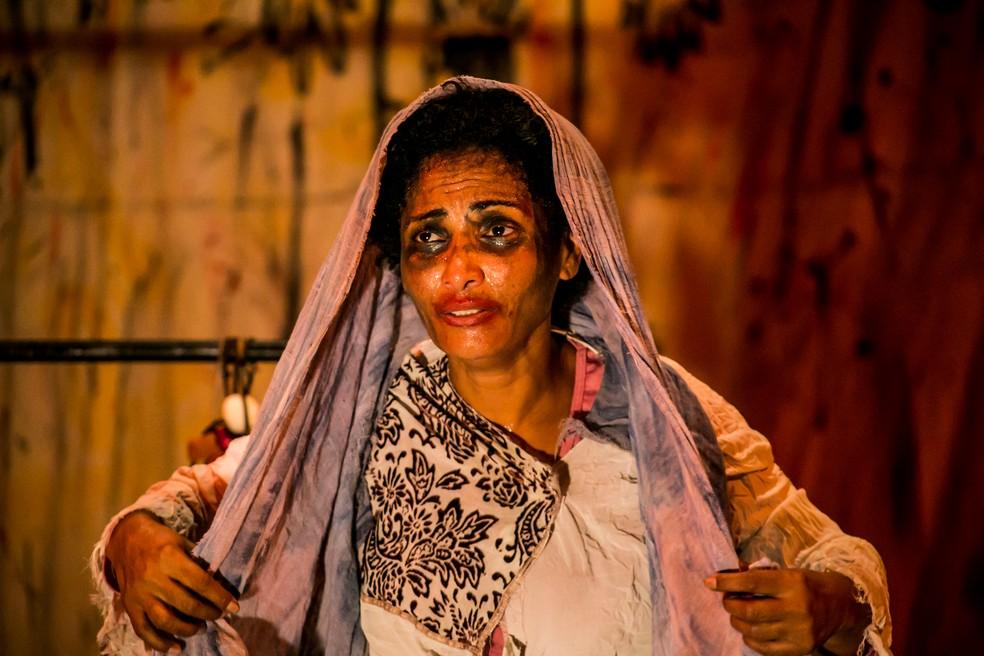 Espetáculo Sobejo é apresentado na Casa d'A Outra (Foto: Divulgação)