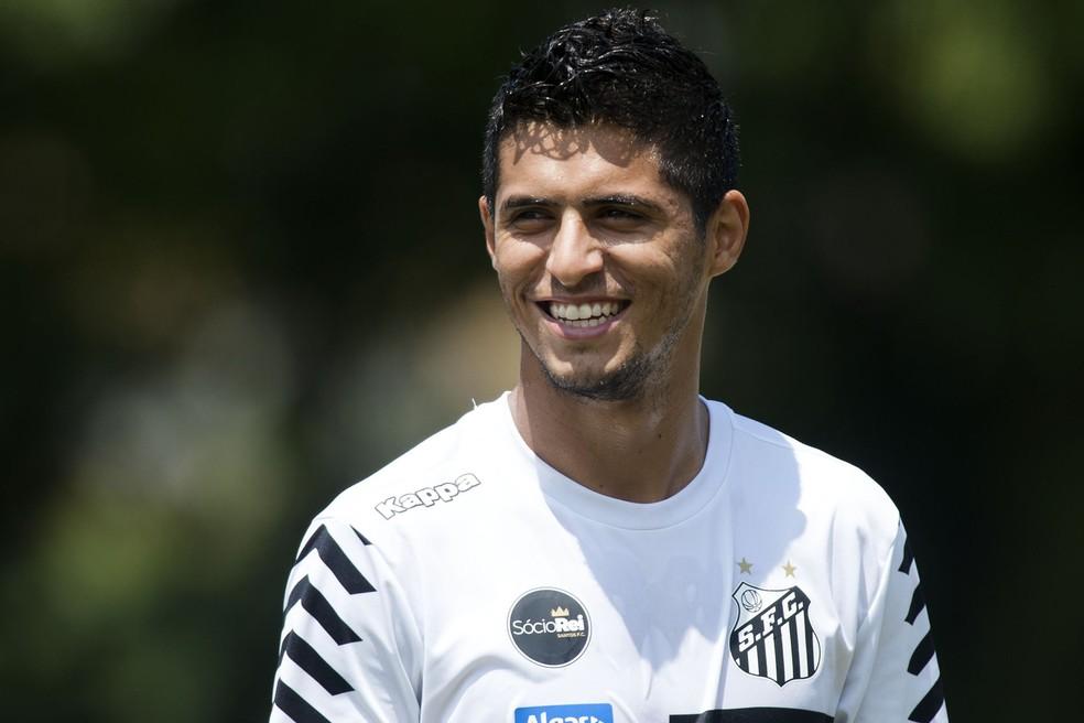 Daniel Guedes — Foto: Ivan Storti / Santos FC / Divulgação