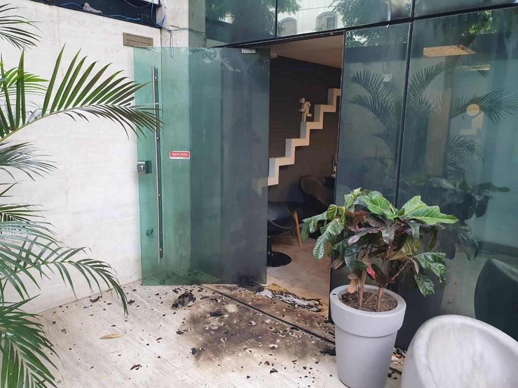 Produtora do Porta dos Fundos é alvo de ataque no Rio — Foto: Arquivo Pessoal