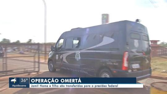 Suspeitos de chefiarem milícia do jogo do bicho são transferidos para presídio federal