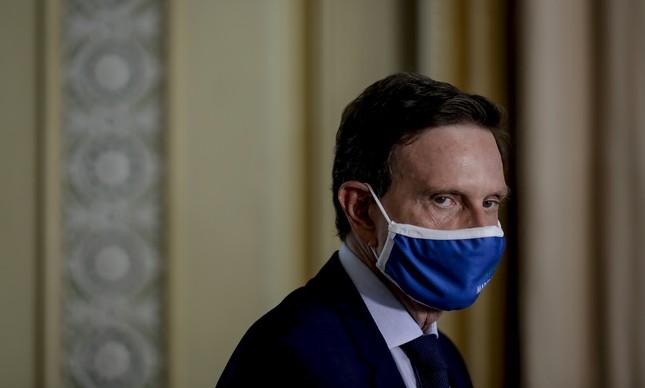 Marcelo Crivella (republicanos) não teve apoio nem da base de Bolsonaro, seu aliado
