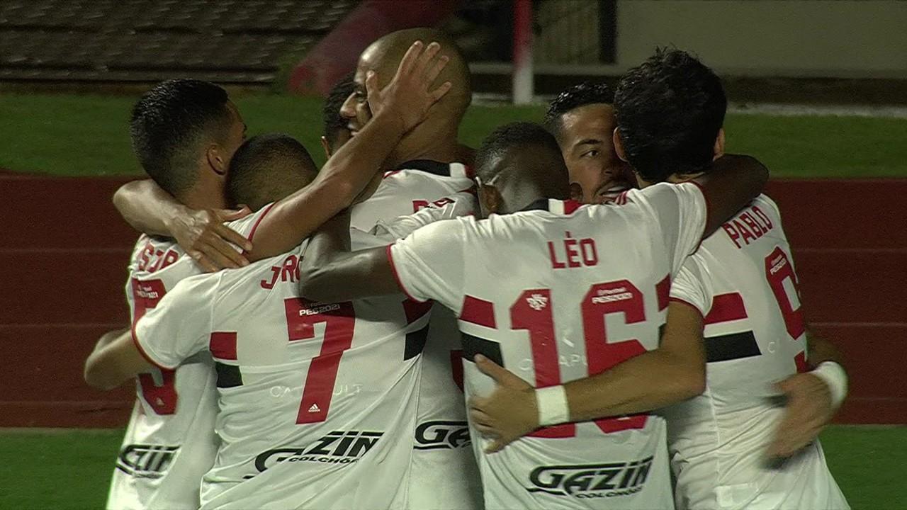 São Paulo 4 x 0 Santos