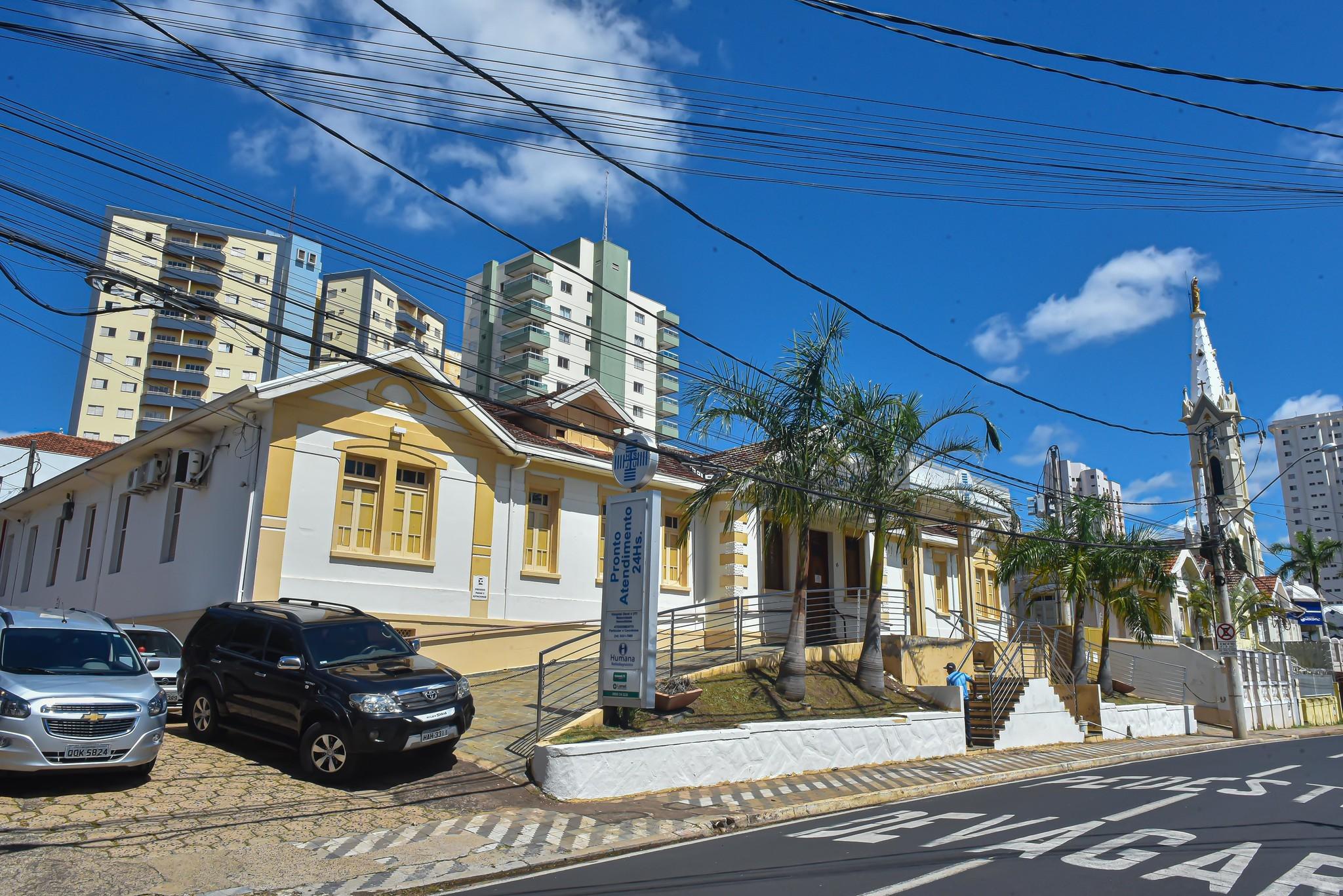 Hospital São José será utilizado em caso de agravamento do coronavírus em Uberaba