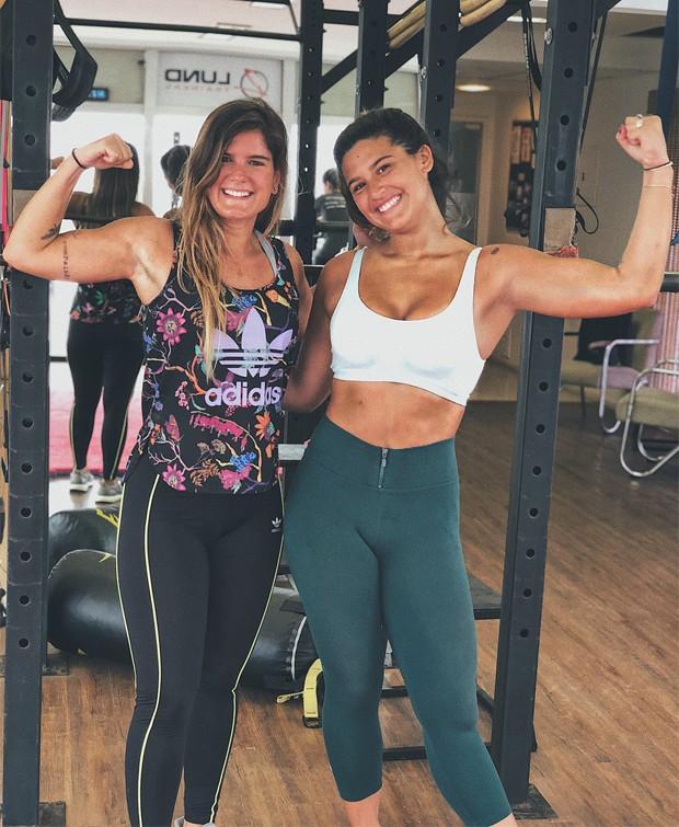 Giulia Costa e Tati Lund (Foto: Reprodução/Instagram)