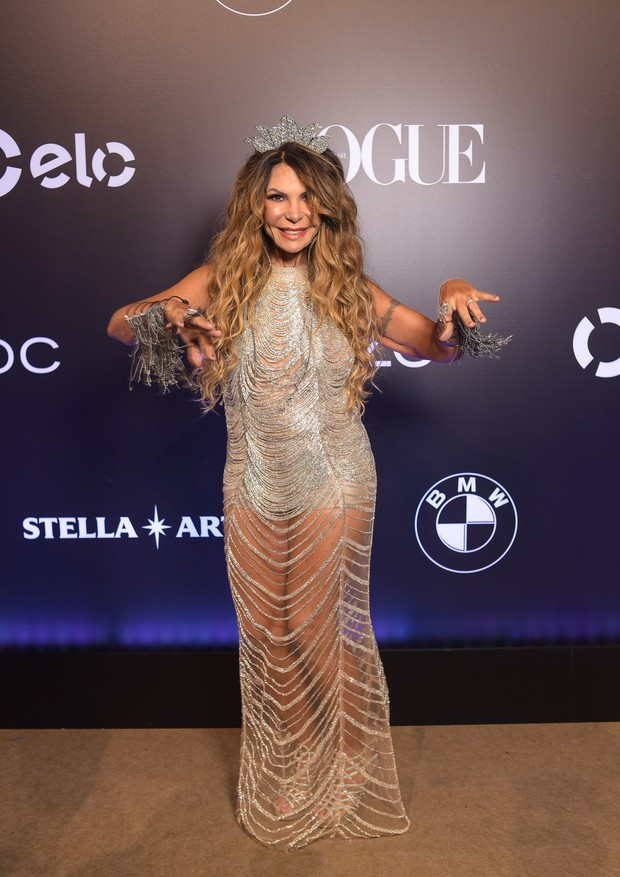 Elba Ramalho no Baile da Vogue 2018 (Foto: Divulgação)