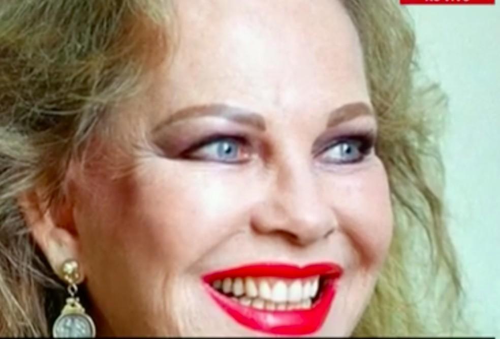 Martha Rocha morreu no sábado (4), em Niterói — Foto: Reprodução