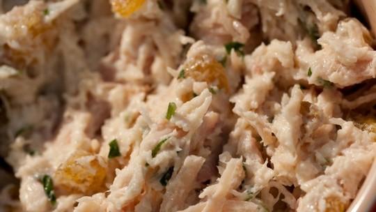 Pasta de Frango Defumado com Maionese de Wasabi