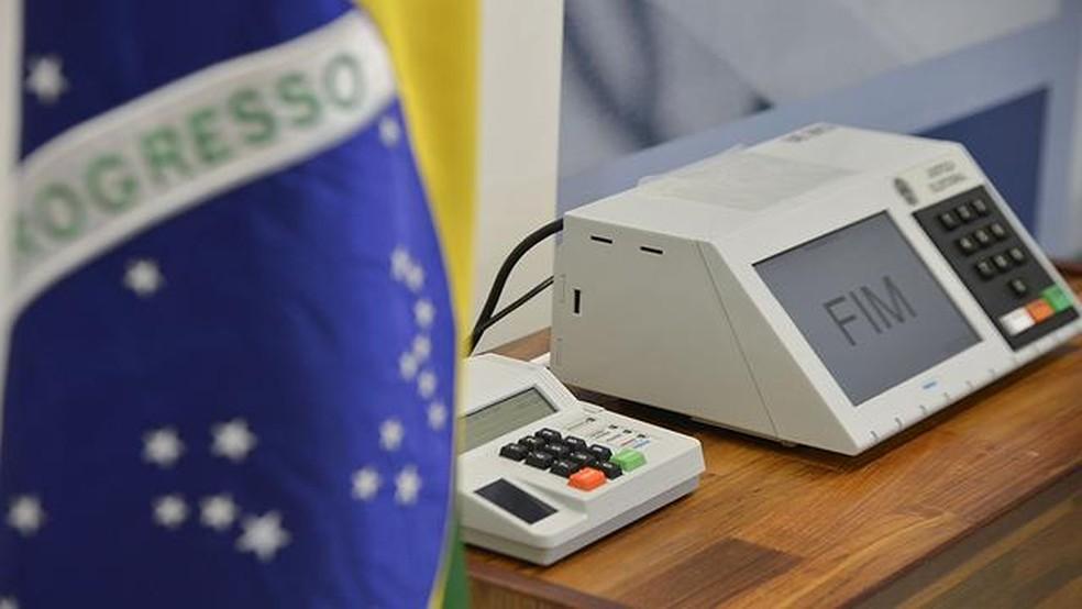 urna eletrônica, votação, eleição, eleições (Foto: José Cruz/Agência Brasil)