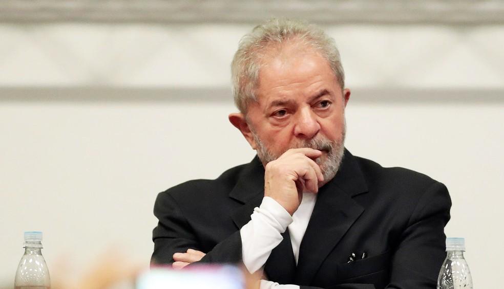 O ex-presidente Luiz Inácio Lula da Silva é acusado de receber um apartamento como propina da Odebrecht (Foto: Leonardo Benassatto/Estadão Conteúdo/Arquivo)