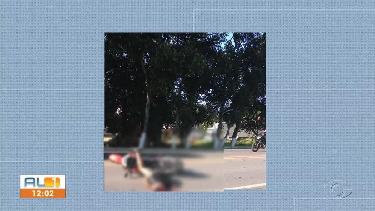 Homem morre em acidente entre moto e carreta na BR-316, em Pilar