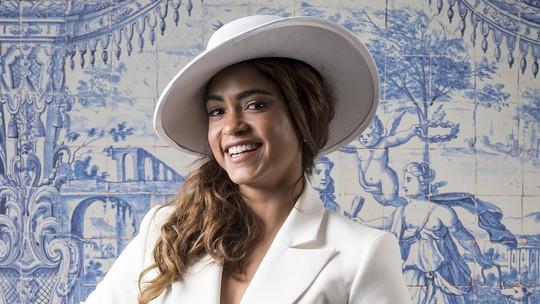 Lucy Alves destaca oportunidade de mostrar talento também como cantora em 'Tempo de Amar': 'Honrada demais'