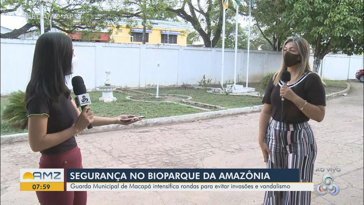 Guarda Municipal reforça rondas no entorno do Bioparque para evitar invasões e vandalismo