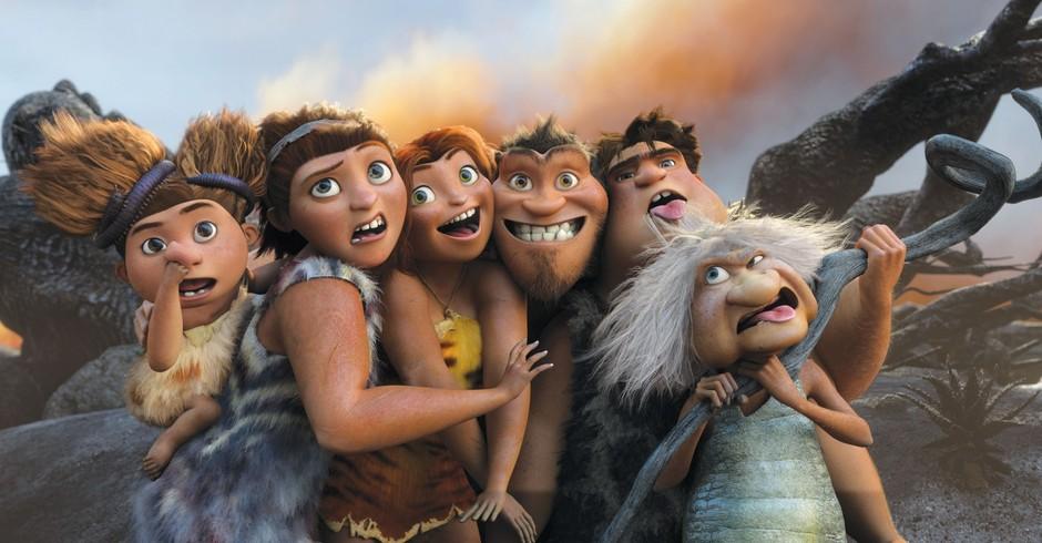 The Croods, homo sapiens, pré-história (Foto: Divulgação)