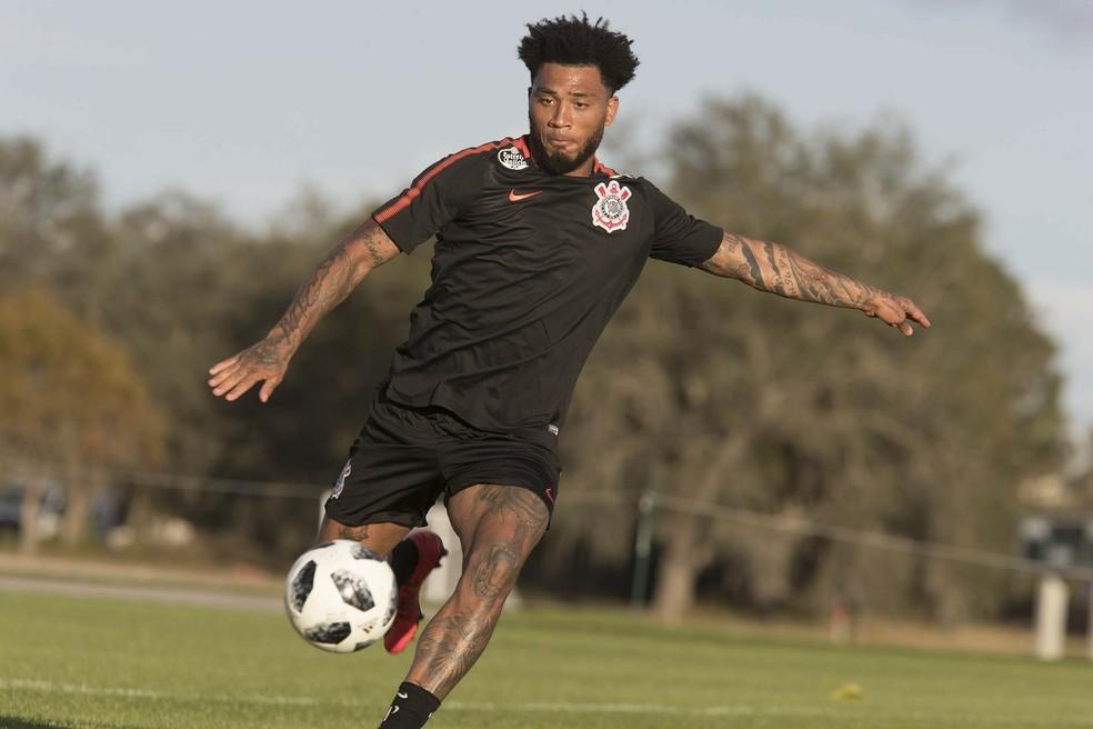 Kazim em treino do Corinthians nos EUA (Foto: Daniel Augusto Jr / Agência Corinthians)