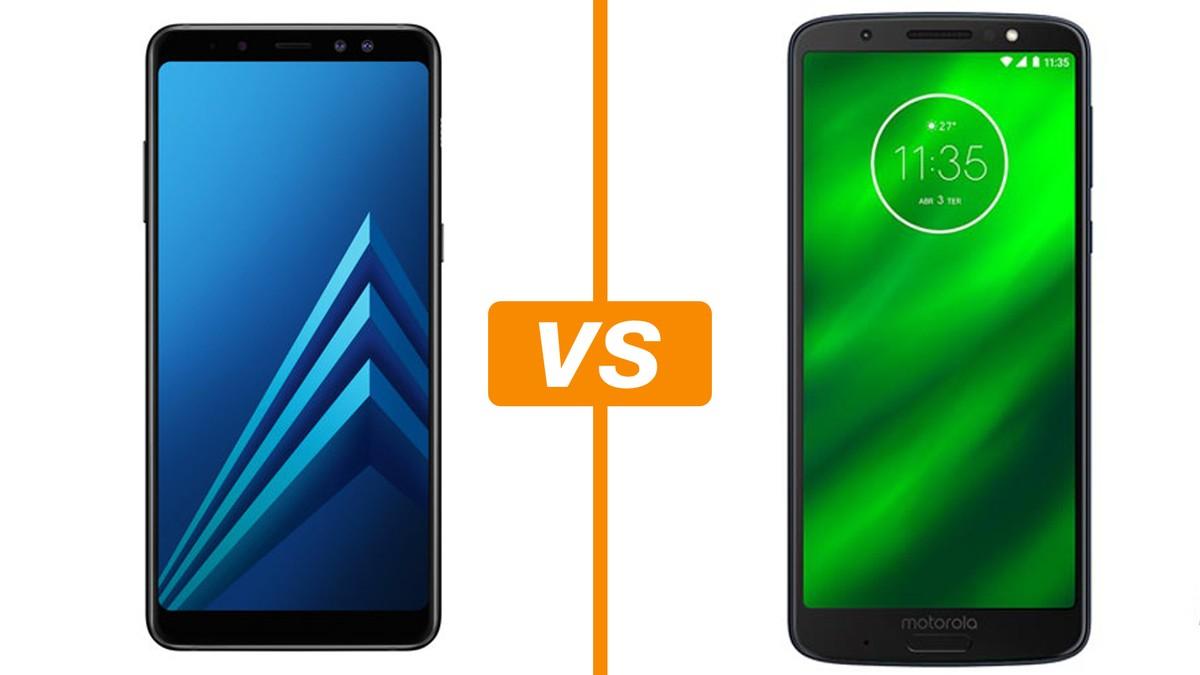 7d5396cb7 Galaxy A8 vs Moto G6 Plus  comparativo revela diferenças na ficha técnica