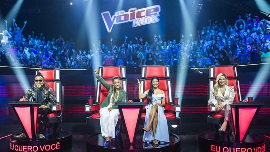 Fofurômetro explodiu no terceiro dia de Audições às Cegas do 'The Voice Kids'