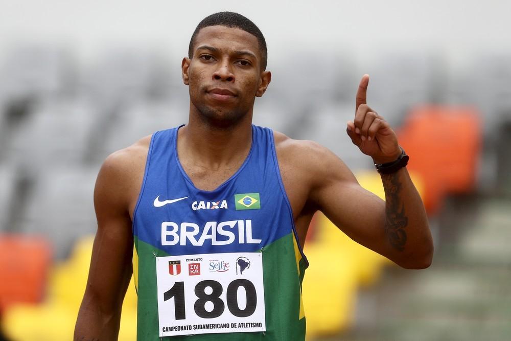 Mulher e filho de Rodrigo do Nascimento, do atletismo, enviam recado e pedem 'pelo menos uma medalha'
