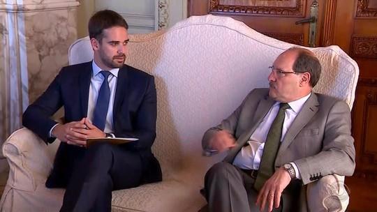 Sartori e Leite fazem primeira reunião de transição do governo no Rio Grande do Sul