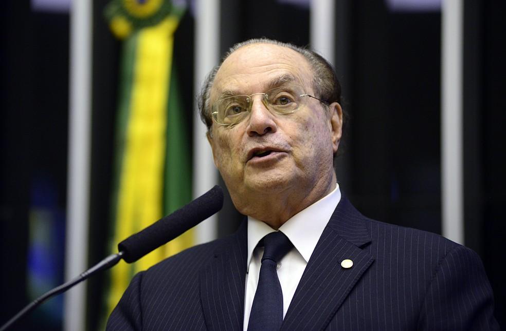 Ex-deputado Paulo Maluf (PP-SP) — Foto: Gustavo Lima / Câmara dos Deputados