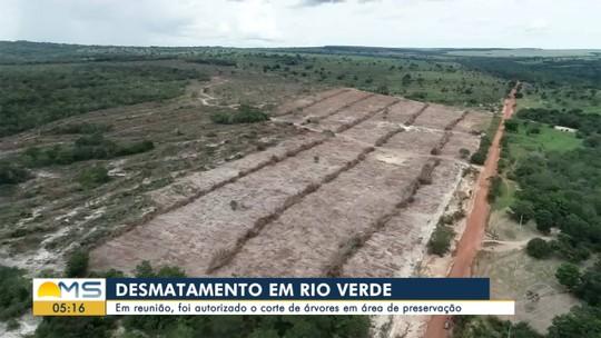 Autorizado mais desmatamento em área de preservação ambiental em Rio Verde