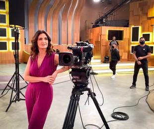 Fátima Bernardes no 'Encontro' | João Cotta/TV Globo