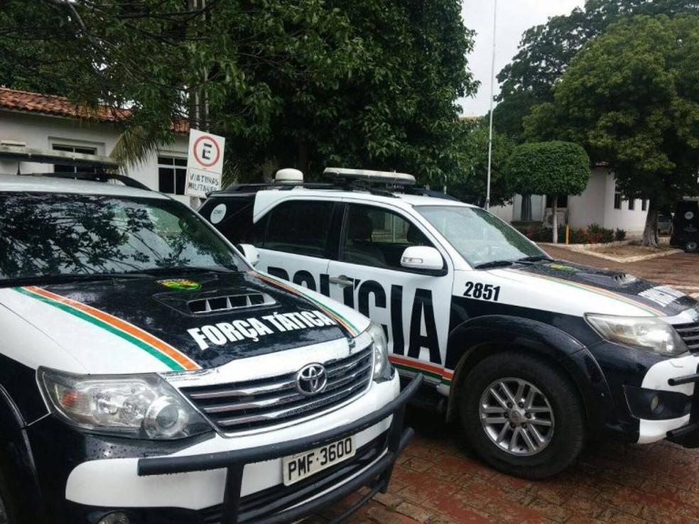 Policiais militares foram afa — Foto: Reprodução / PMCE