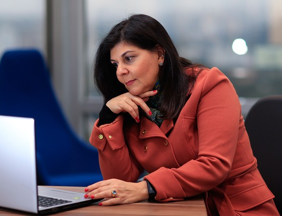 Malena Martelli, vice-presidente de RH. Enquanto a maioria faz o mestrado para crescer na carreira, ela quer abrir a própria consultoria (Foto: EDILSON DANTAS/AGÊNCIA O GLOBO)