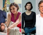 Malvino Salvador, Regiane Alves, Mel Lisboa e Marcello Novaes foram escalados para 'Malhação: Transformação' | Globo e Fabio Audi