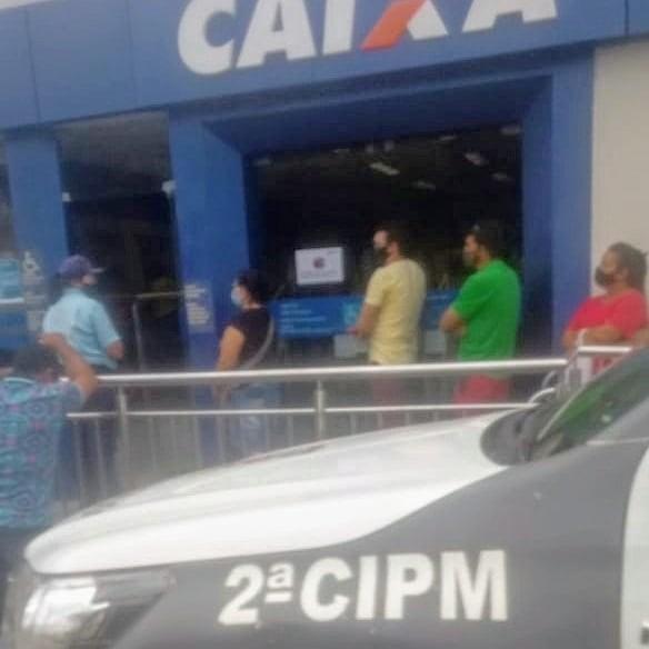 Homem é preso após roubar dinheiro de auxílio emergencial das mãos de funcionária da Caixa Econômica no RN