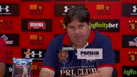"""Sem Magrão, Sport decide não contratar outro goleiro: """"Vez da base"""""""