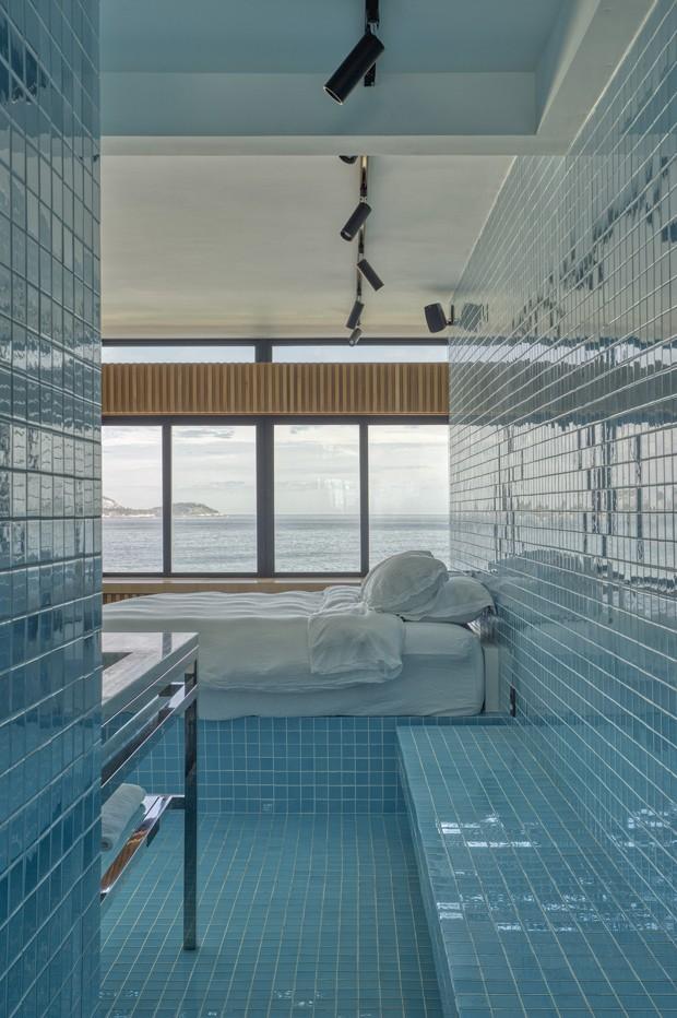 O apartamento de temporada no Rio de Janeiro de um estilista europeu (Foto: Divulgação)