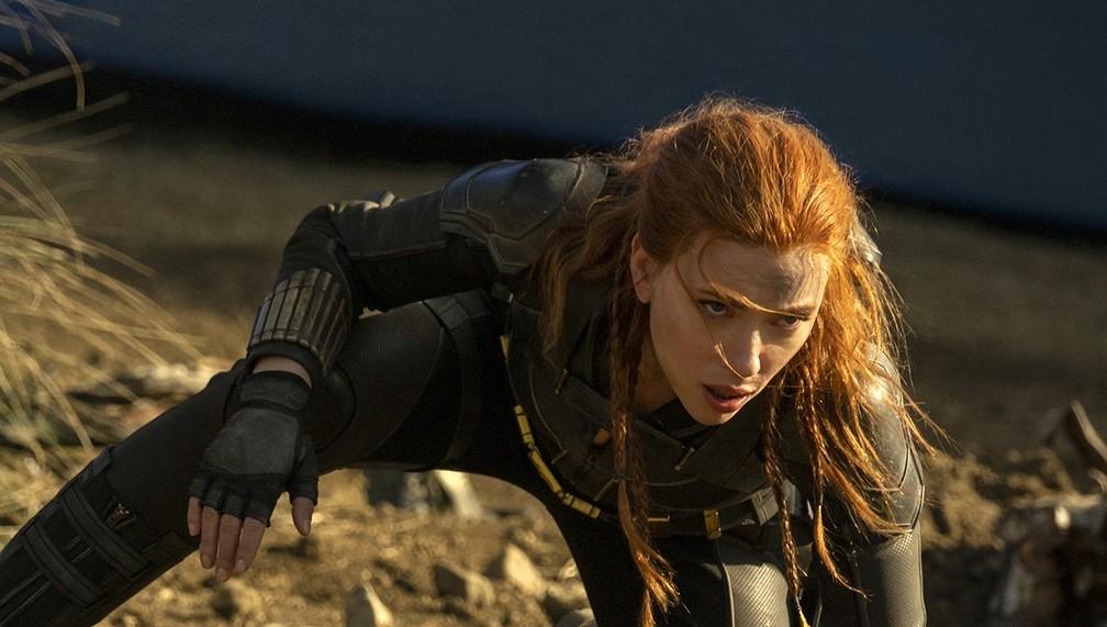 Scarlett Johansson em cena de 'Viúva Negra' — Foto: Divulgação