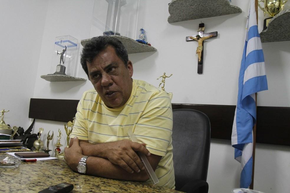Luiz Omar Pinheiro confirmou presença na reunião — Foto: Cristiano Martins/O Liberal