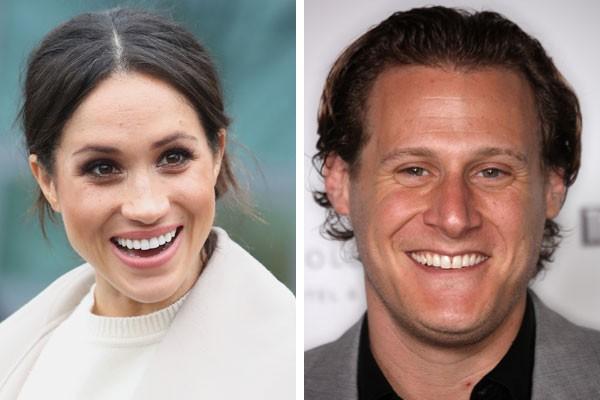 Meghan Markle e o seu ex-marido, Trevor Engleson (Foto: Getty Images)