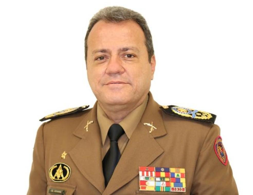 O policial militar Giovanne Gomes da Silva, novo diretor da Funasa — Foto: Reprodução