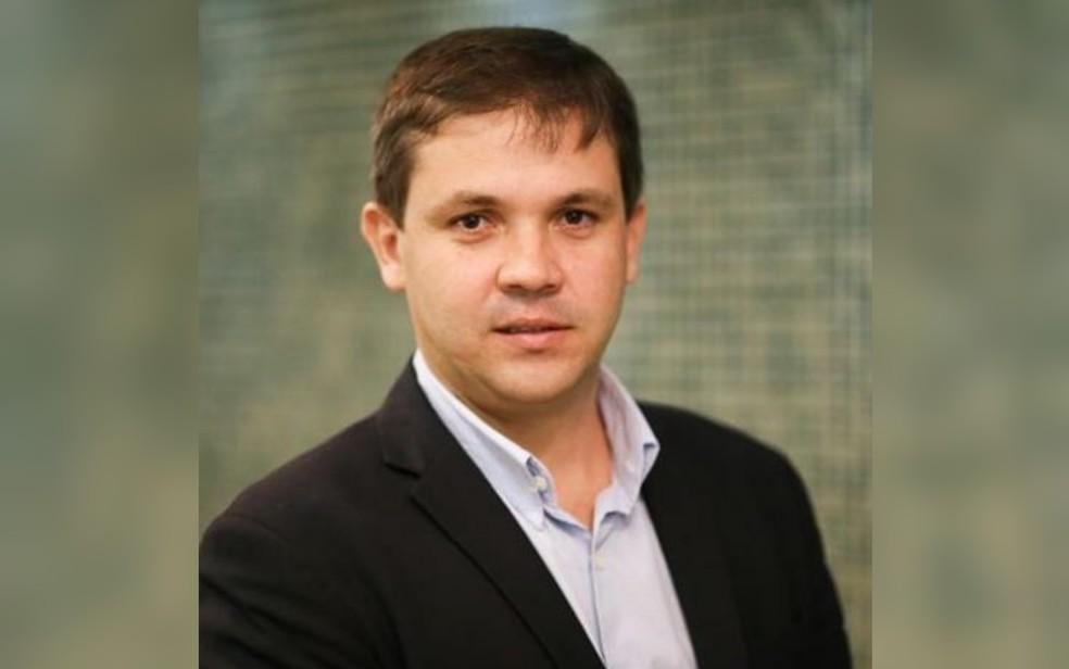 Antônio Carlos de Souza Lima Neto, secretário empossado em Goiás — Foto: Reprodução