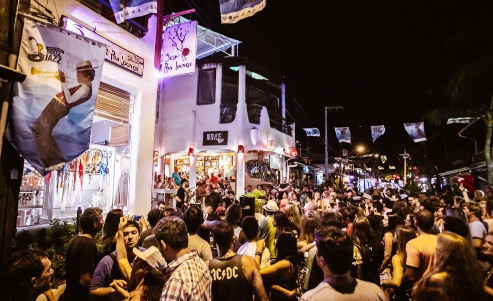 Fest Bossa & Jazz na Praia da Pipa, no RN — Foto: Brunno Martins