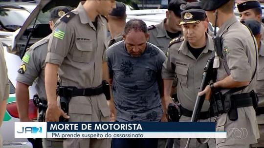 Suspeito de matar motorista de aplicativo se entrega e confessa crime ao ver policias na rua, diz PM