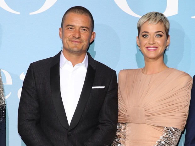 Katy Perry e Orlando Bloom (Foto: Getty Images)