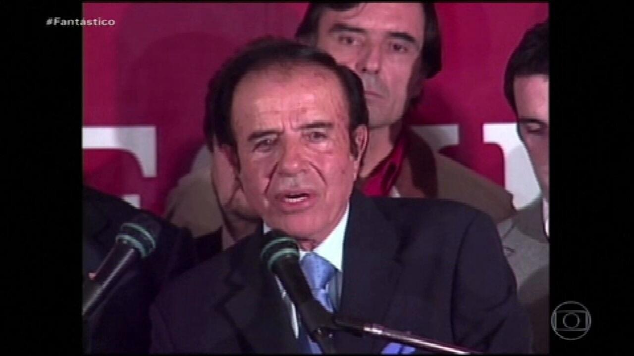 Carlos Menem, ex-presidente da Argentina, morre aos 90 anos