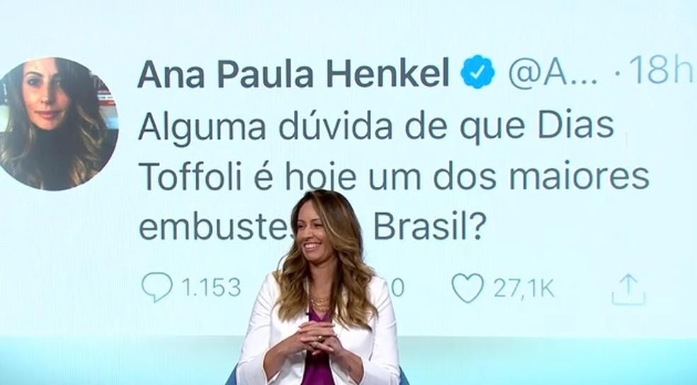 Ana Paula do vôlei — Foto: Reprodução