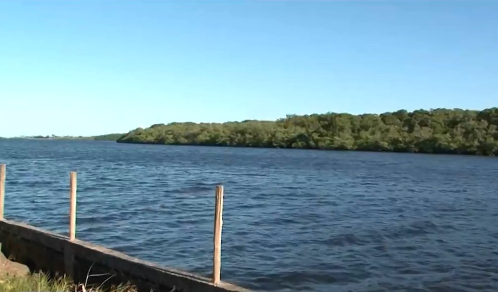 Corpo de Joadson foi encontrado na manhã desta sexta-feira — Foto: Reprodução/TV Bahia
