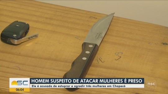 Justiça decreta prisão preventiva de taxista suspeito de estupro em Chapecó