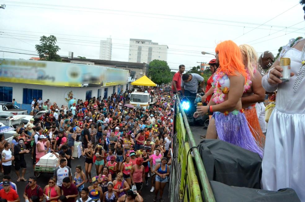 Passagem do bloco A Banda acontece há 53 anos em Macapá (Foto: Jéssica Alves/G1)