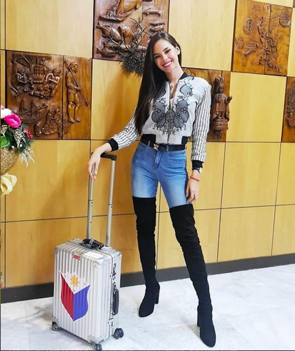 A modelo e Miss Universo 2018 Catriona Grey (Foto: Instagram)